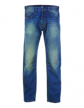 Pantalones Michigan Mid Blue marca Dickies delante