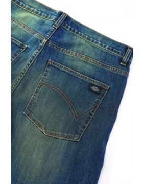 Dickies Michigan Mid Blue Jeans back detail