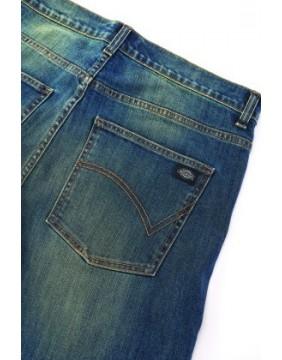 Pantalones Michigan Mid Blue marca Dickies detalle trasero