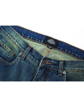Dickies Michigan Mid Blue Jeans waist