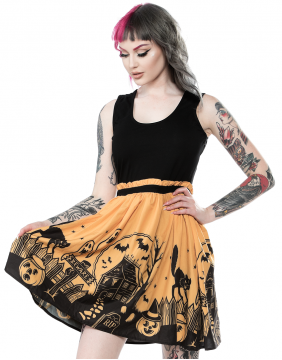 Sourpuss Haunted House Dress