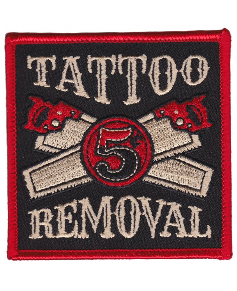 Kustom Kreeps Parche Tattoo Removal