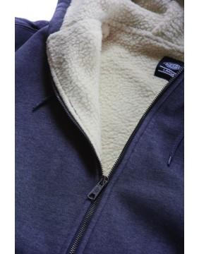 Dickies Sherpa Lined Fleece Sweatshirt lining detail