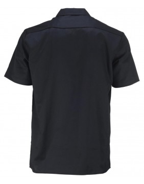Dickies 576 Work Black Shirt Slim Fit for men back