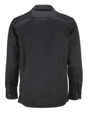 Dickies 576 Work Black long sleeve Shirt Slim Fit for men back