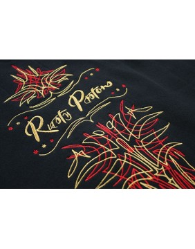 Rusty Pistons Troy Sweatshirt embroidered for men back detail