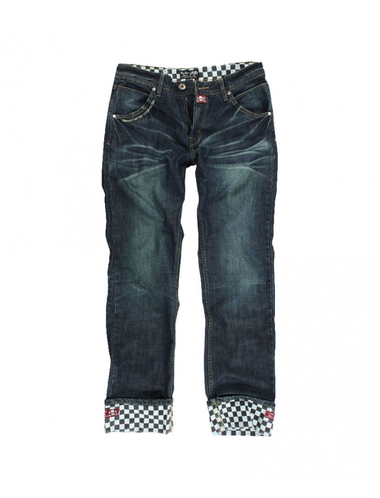 Rusty Pistons Winslow Race Jeans for men front