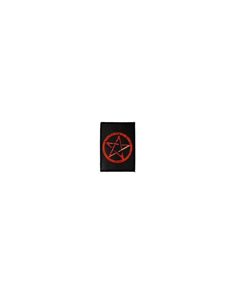 Darkside Red Star Pentacle Patch