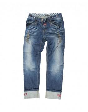 Pantalon Seymour Rusty Pistons bordado para hombre frontal