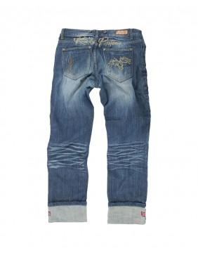Pantalon Seymour Rusty Pistons bordado para hombre detrás