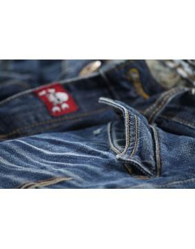 Pantalon Seymour Rusty Pistons bordado para hombre cremallera