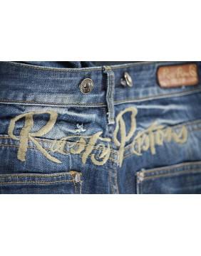 Pantalon Seymour Rusty Pistons bordado para hombre cintura