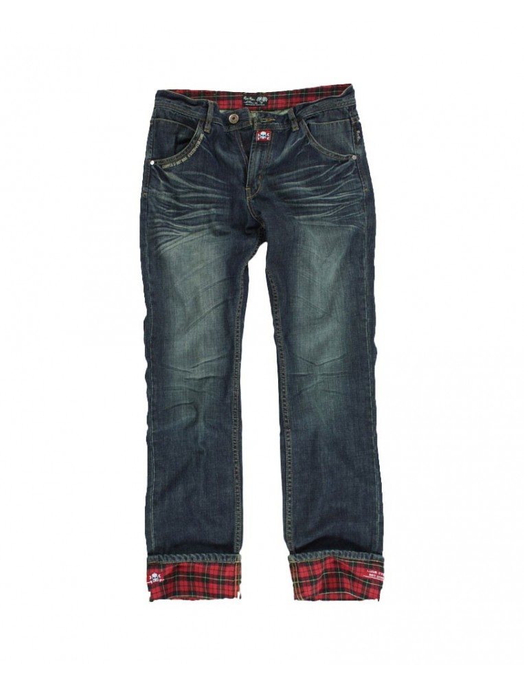 Rusty Pistons Winslow Red Jeans for men Front