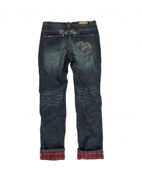Rusty Pistons Winslow Red Jeans for men back