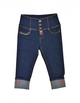 Rusty Pistons Pantalon Capri Bethany para mujer de frente