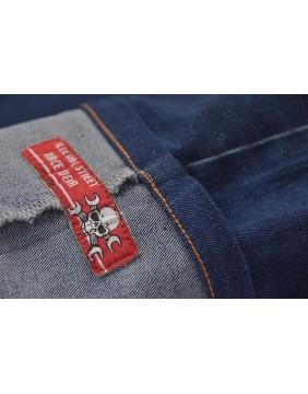 Rusty Pistons Pantalon Capri Bethany para mujer dobladillo