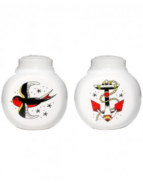 Sourpuss Tattoo Shakers