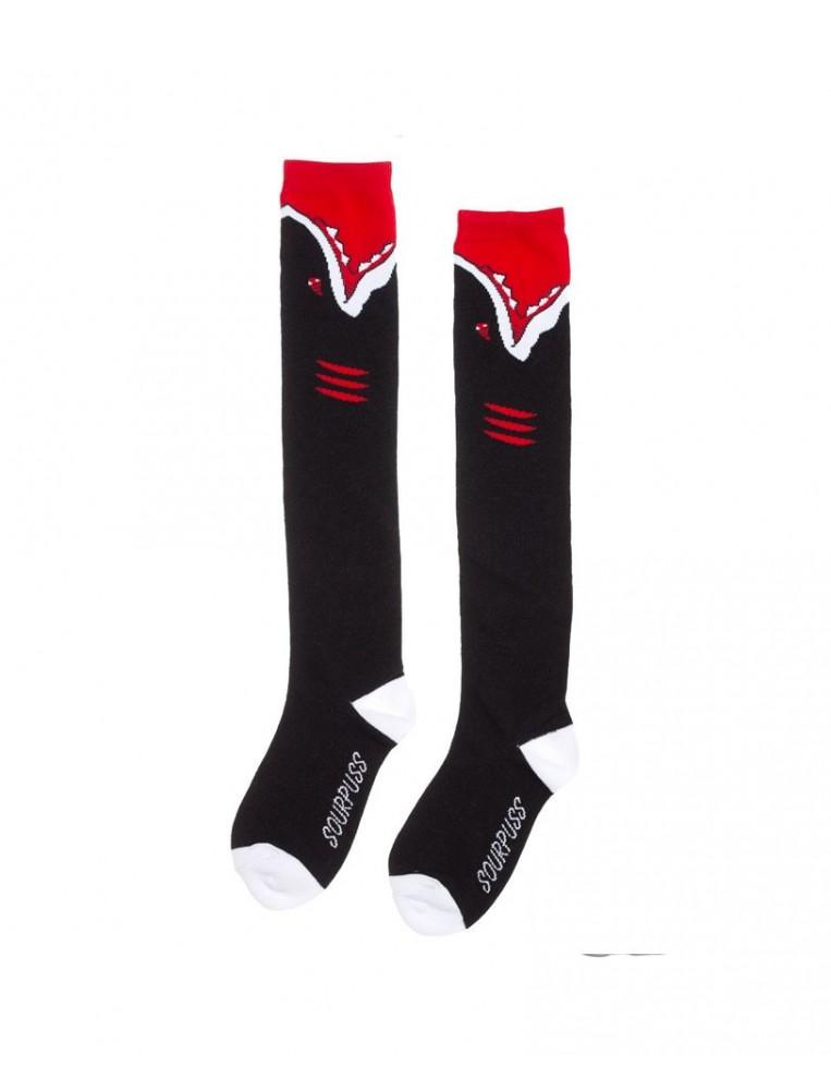 Sourpuss Angry Sharks Socks