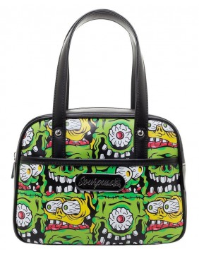 Sourpuss Fink Faces Purse