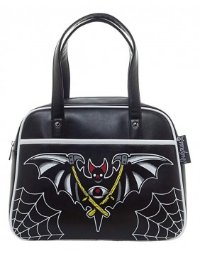 Sourpuss Night Bat Bowler Purse Front
