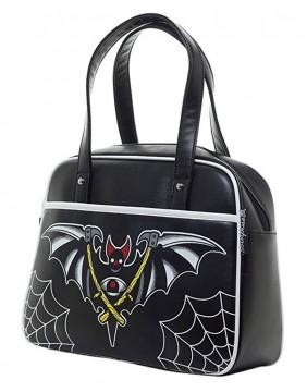 Sourpuss Bolso Night Bat de perfil