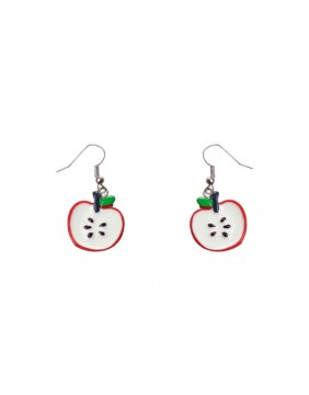 Collectif Apple Drop Earrings