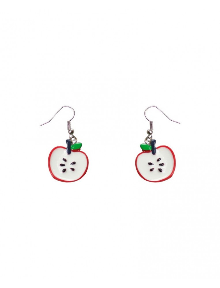Collectif Apple Drop Earrings