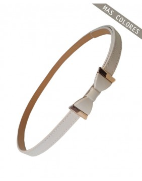 Banned Summer Love Belt White