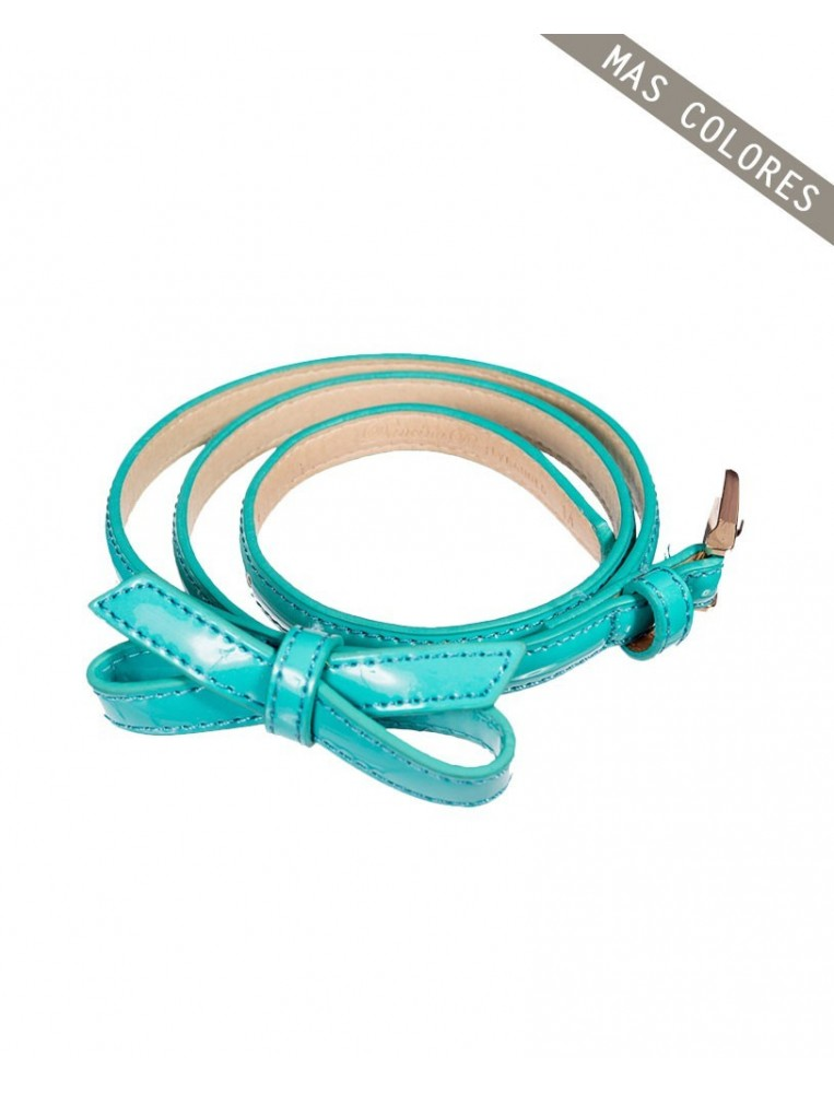 Turquoise Banned Gold Rush Belt for women