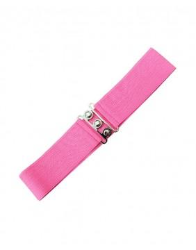 Banned Vintage Stretch Belt Pink for women