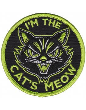 Sourpuss Cat's Meow Patch