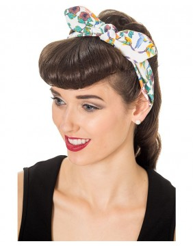 Bandana multi color return to paradise de Banned