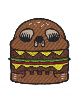 Sourpuss Skull Burguer Patch