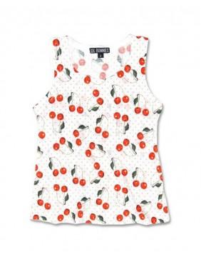 Camiseta cherries de Six Bunnnies