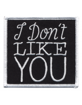 Sourpuss Skull Don't Like You Patch
