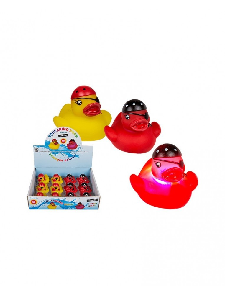 Bathing Pirate LED duck