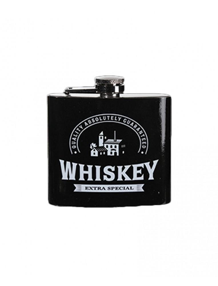 Petaca de metal whiskey