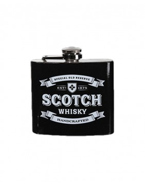 Scotch metal flask