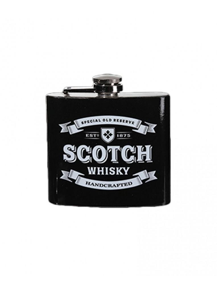 Petaca metal scotch