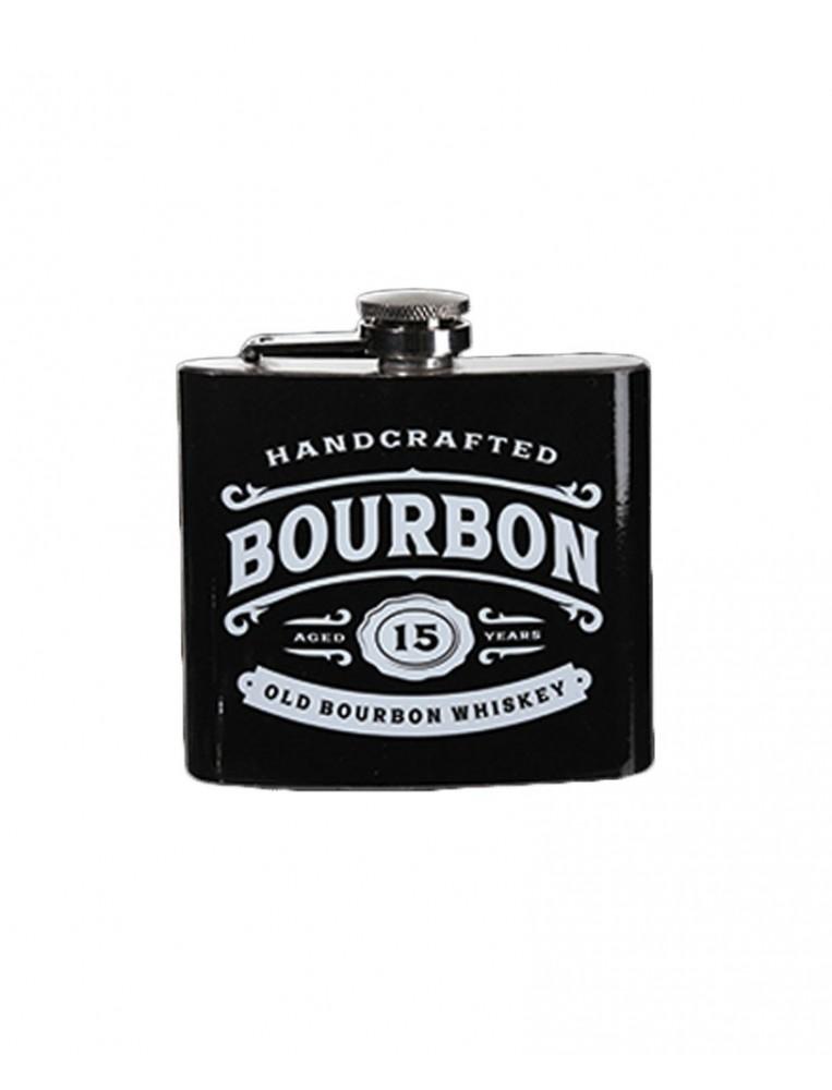 Petaca de metal bourbon