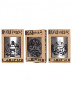 Rum/Whiskey metal flask by kustom kreeps colletion