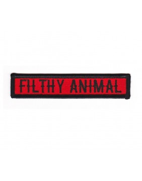 Dumb Junk Filthy Animal Patch