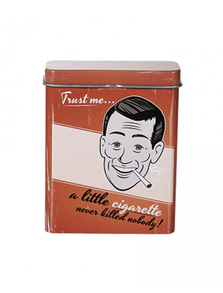 Trust me metal cigarette case