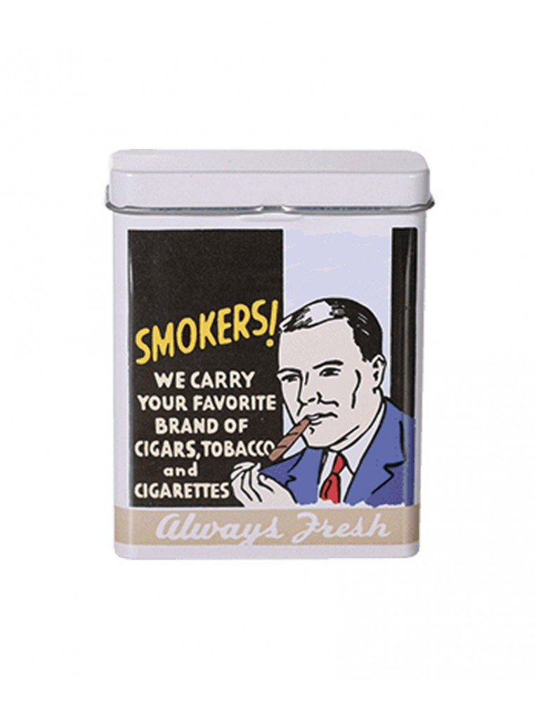 Pitillera metal smokers