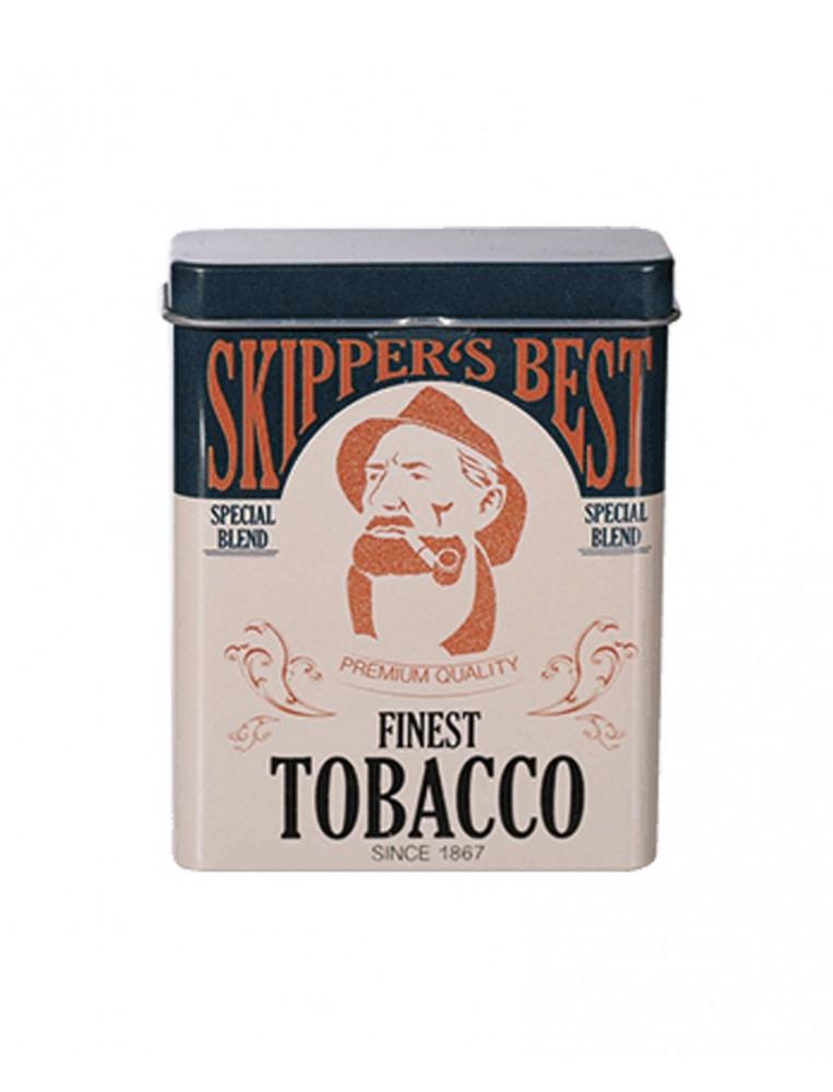 Skipper's metal cigarette case