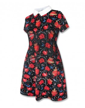 Liquorbrand dress sacred hearts