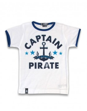 Camiseta capitan pirata para niños de Six Bunnies