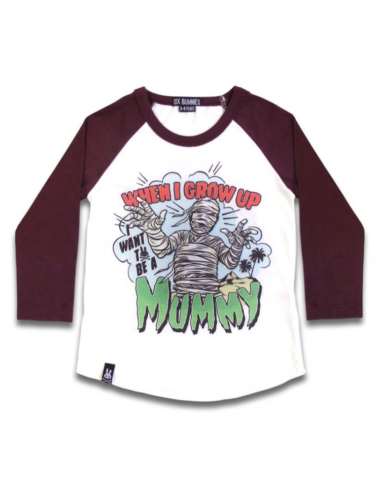 Camiseta momia de Six Bunnies para niños
