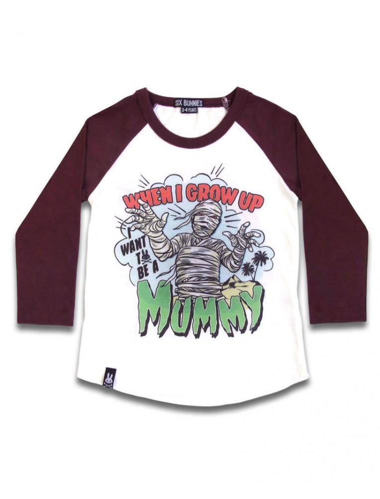 Mummy T-shirt for boys by Six Bunnies