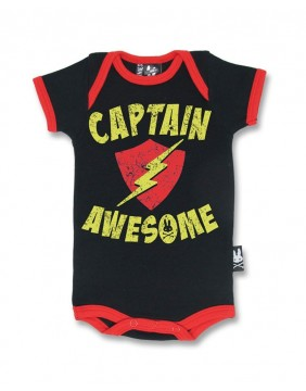 Body de capitan para bebe de Six Bunnies